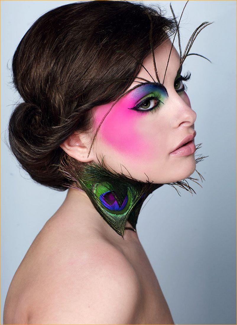 гламурная девушка модель