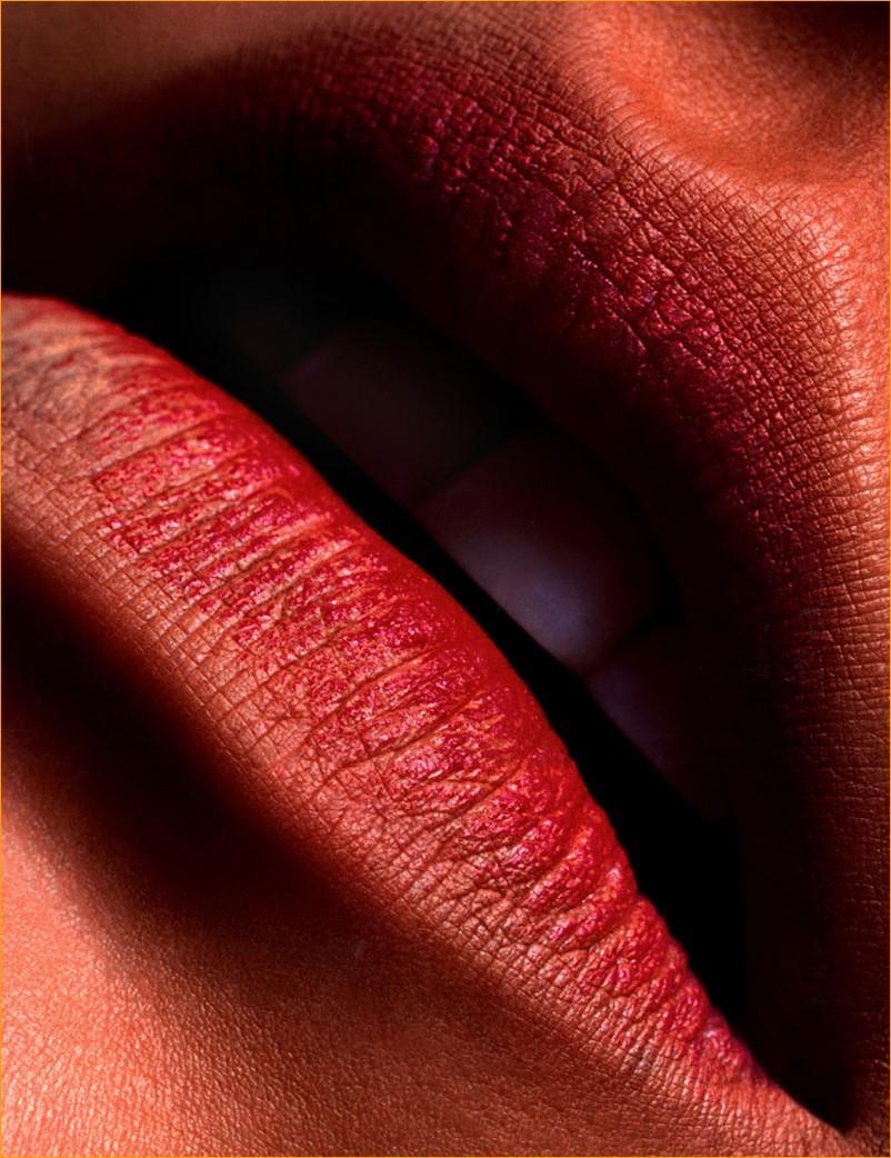 гламурные губы