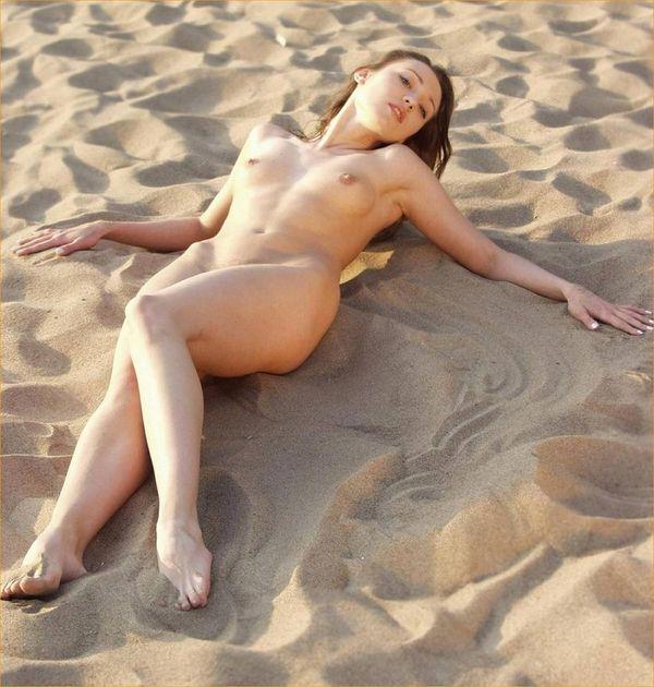 голая татарочка не пляже