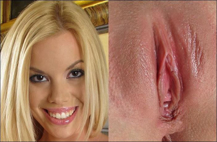 блондинка и ее киска
